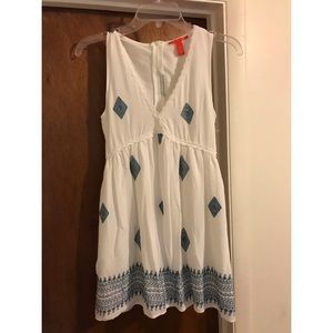 Sweet and cute blue and white dress ✨